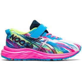asics Pre Noosa Tri 13 PS Shoes Kids, azul/rosa